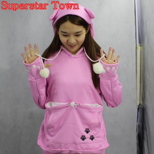 Cat Hoodies With Ears