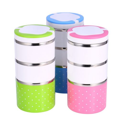 Cute Stainless Steel Food Container | Bento Lunch Box