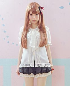 Japanese Cute Lolita Blouse and Shorts