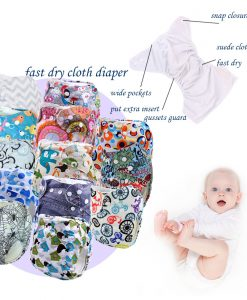 Kawaii Baby Cloth Diaper