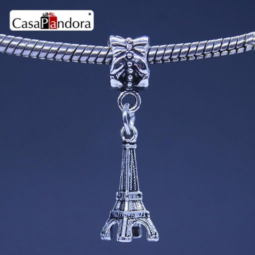 Eiffel Tower Shape Bracelet Charm