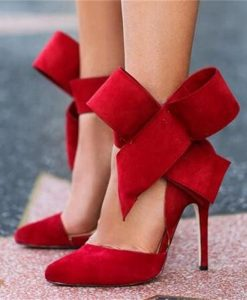 Big Bow High Heel Shoes