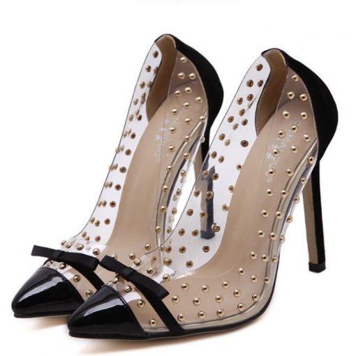 Summer High Heel Pointed Shoes