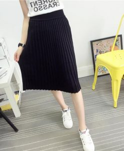 Cute Korean Midi Skirt