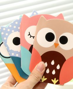 Owl Mini Notebook Diary