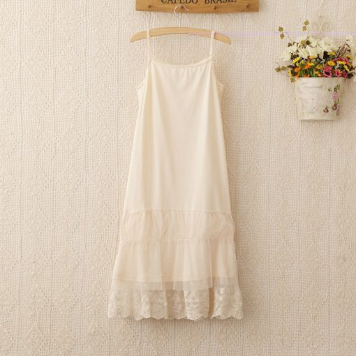 Harajuku Summer Lace Sleeveless Dress