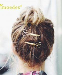 Gold and Silver Hair Clips