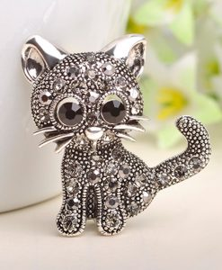 Cute Little Cat Brooches Pin
