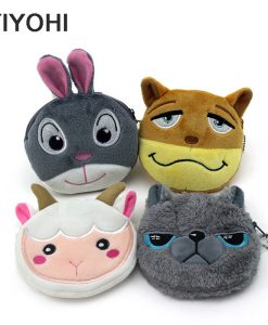 Cute Animals Plush Coin Wallets