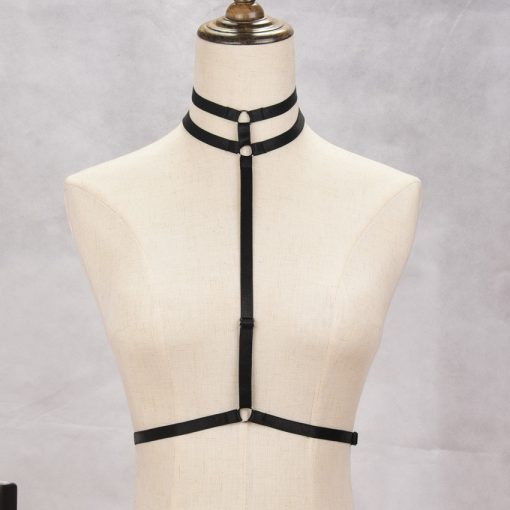 Sexy Goth Body Harness
