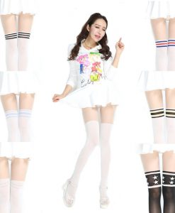 Kawaii Striped Stockings Tights