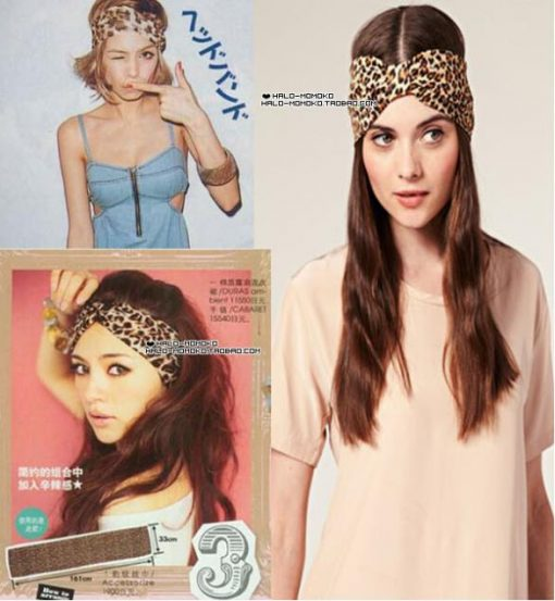 Cotton Elastic Wide Headbands