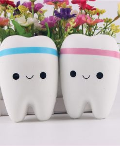 Kawaii Teeth Soft Squishy Toy