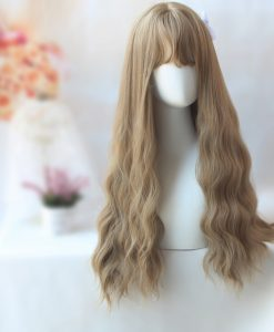 26 inch Long Wavy Brown Wig