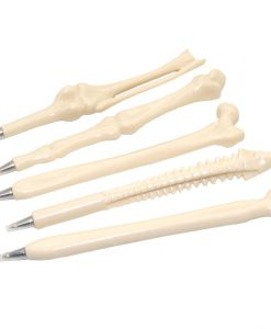 5 Pcs Bone Shape Ballpoint Pens