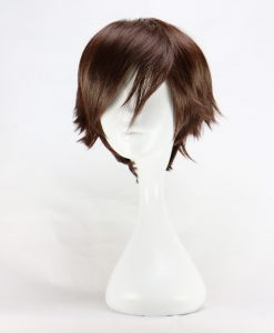Harajuku Short Brown Wigs