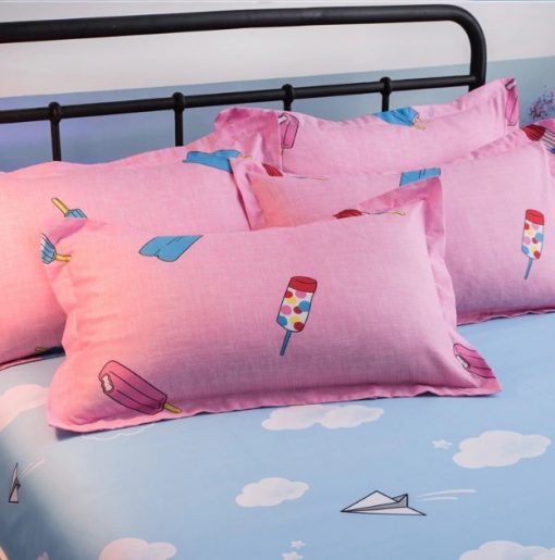 kawaii ice cream bedding set